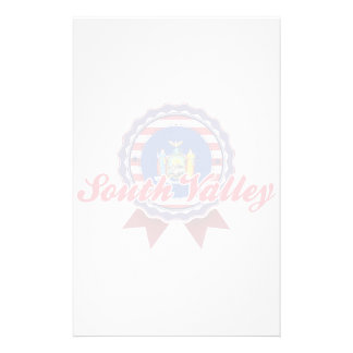 South Valley, NY Stationery Paper