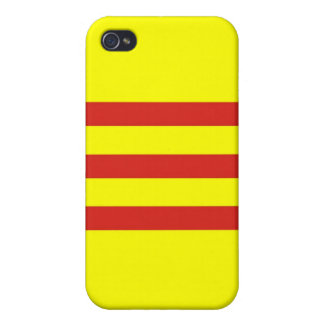 south vietnam ethnic flag iPhone 4/4S covers