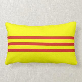 south vietnam ethnic flag pillow