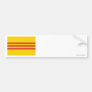 South Vietnam Flag Bumper Stickers