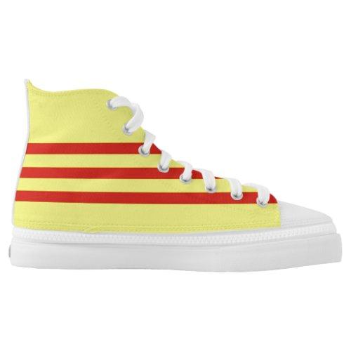 South Vietnam flag High-Top Sneakers