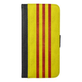 South Vietnam Light Grunge Flag iPhone 6/6s Plus Wallet Case