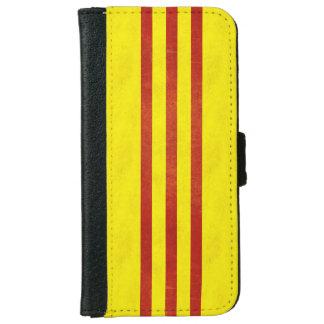 South Vietnam Light Grunge Flag iPhone 6/6s Wallet Case