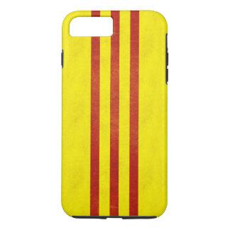 South Vietnam Light Grunge Flag iPhone 8 Plus/7 Plus Case