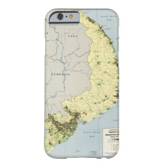 South Vietnam Map September 1972 Barely There iPhone 6 Case