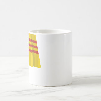 South Vietnam Waving Flag Coffee Mug