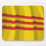 South Vietnam Waving Flag Mouse Pad