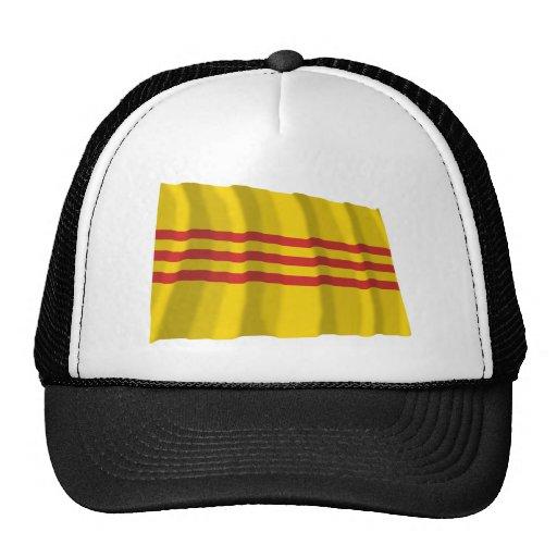 South Vietnam Waving Flag Trucker Hat
