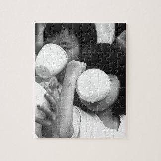 South Vietnamese children.  (USIA)EXACT DATE SHOT_ Jigsaw Puzzle