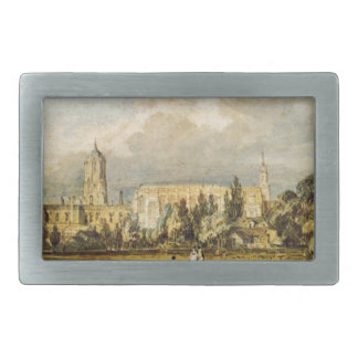 South View of Christ Church, from the Meadows Belt Buckle