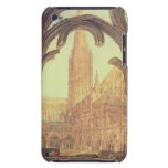 South View of Salisbury Cathedral from the Cloiste iPod Touch Case-Mate Case