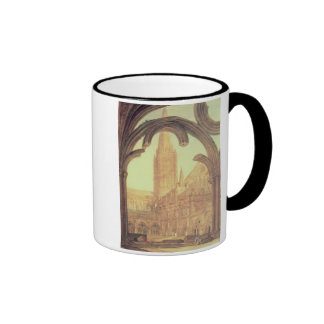 South View of Salisbury Cathedral from the Cloiste Mug