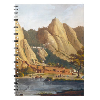 South view of Sewandroog, illustration from 'Twelv Notebook