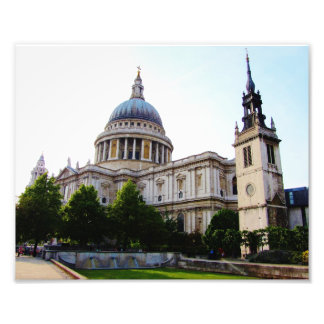 South View of St Paul's, London Photo Art