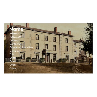 South Wales Hotel, New Milford (i.e. Neyland), Wal Business Card Template