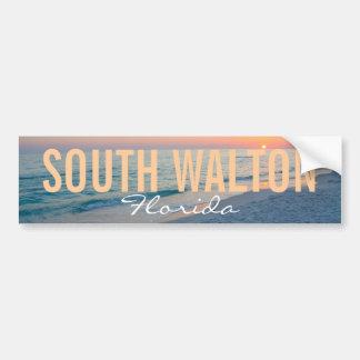 South Walton Beach Florida Bumper Sticker
