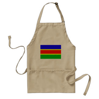 South West African National Union Colombia flag Aprons