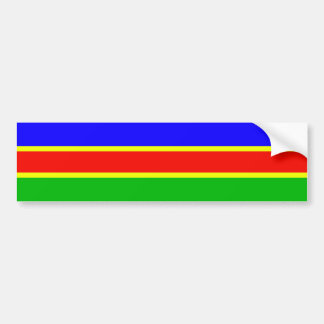 South West African National Union, Colombia flag Bumper Stickers