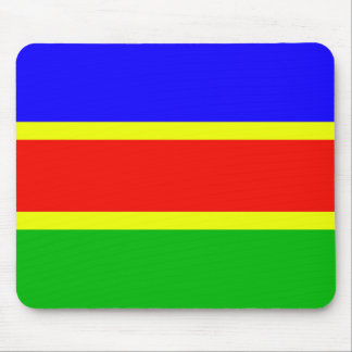 South West African National Union Colombia flag Mousepads