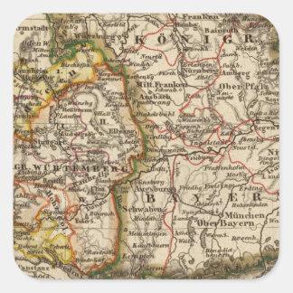 South West Germany Sticker