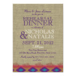 South West Rehearsal Dinner 5.5x7.5 Paper Invitation Card