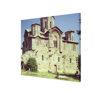 South-west view of the Church of Sveti Djordje Canvas Print
