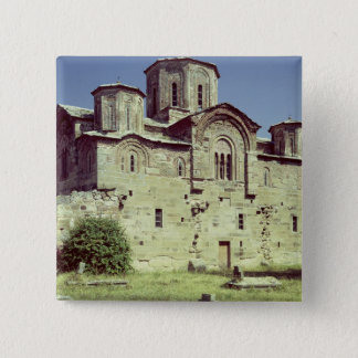 South-west view of the Church of Sveti Djordje Pinback Button