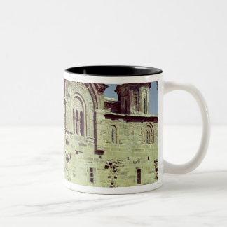 South-west view of the Church of Sveti Djordje Two-Tone Coffee Mug