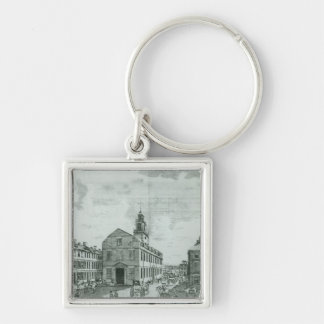 South West View of The Old State House Keychains