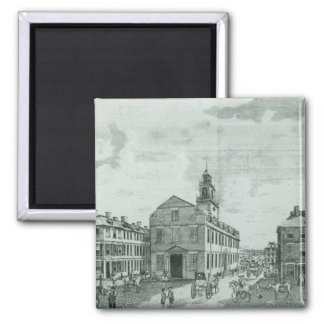 South West View of The Old State House Magnet