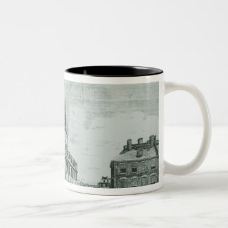 South West View of The Old State House Two-Tone Coffee Mug