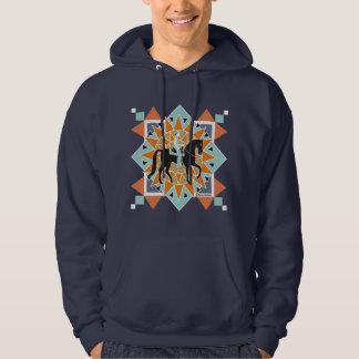 South Western Horse Hooded Sweatshirt