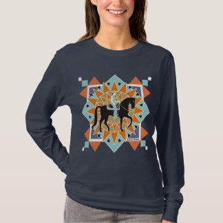 South Western Pleasure Horse Long Sleeve T T-Shirt