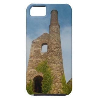 South Wheal Frances Tin Mine Cornwall England iPhone SE/5/5s Case