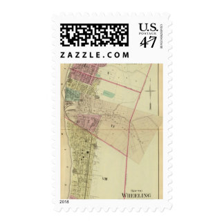 South Wheeling, fifth, sixth and eighth wards Postage