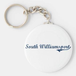 South Williamsport Pennsylvania Classic Design Basic Round Button Keychain