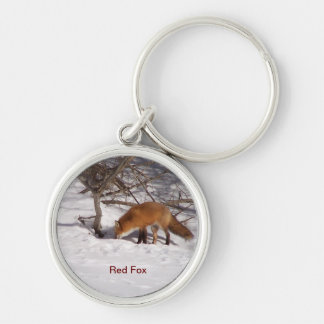 South Woodstock Red Fox Keychain