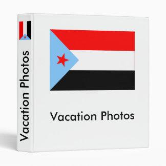 South Yemen Flag (1967-1990) 3 Ring Binder