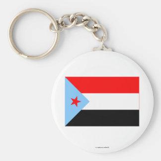 South Yemen Flag (1967-1990) Basic Round Button Keychain