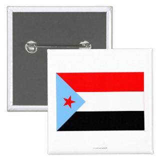 South Yemen Flag (1967-1990) Button