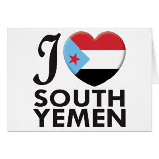 South Yemen Love Card