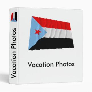 South Yemen Waving Flag (1967-1990) Binder