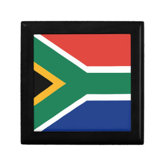 Southafrican flag keepsake box