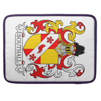 Southall Coat of Arms MacBook Pro Sleeves