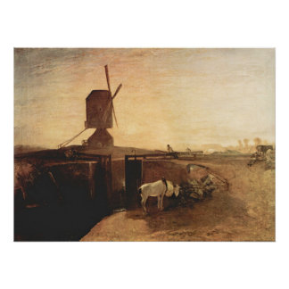 Southall Mill by Joseph Mallord Turner Poster
