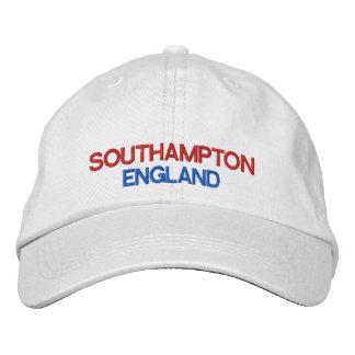 Southampton* England Adjustable Hat Embroidered Baseball Caps