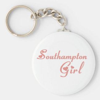 Southampton Girl Keychain