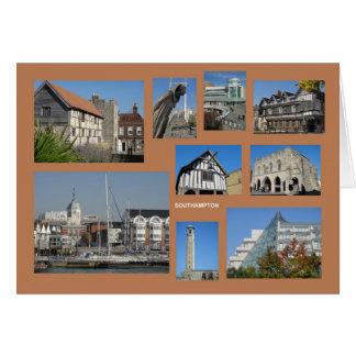 Southampton greeting card