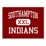 Southampton - indios - centro - Courtland Tarjeta Postal