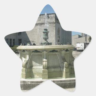 Southampton Library Fountain Star Sticker
